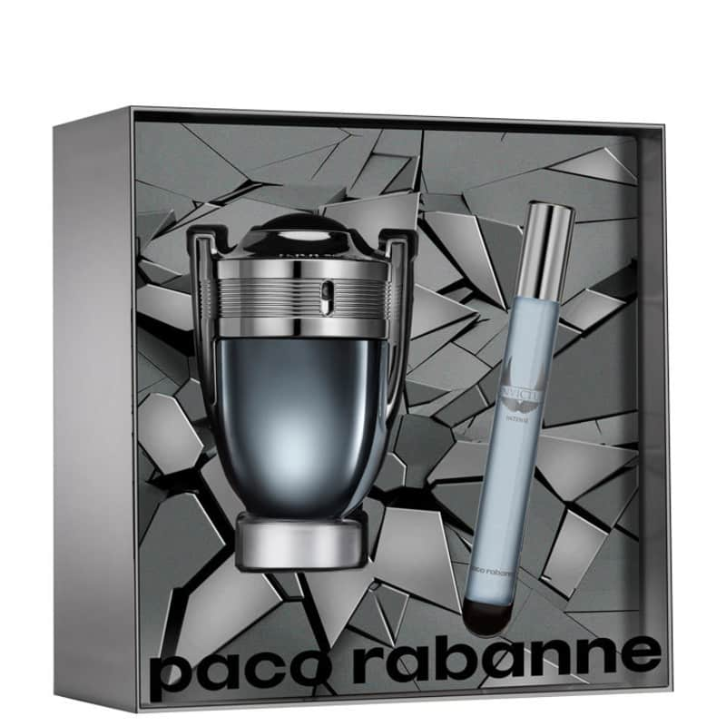 Conjunto Invictus Intense Duo Paco Rabanne Masculino - Eau de Toilette 50ml + Travel Size 10ml