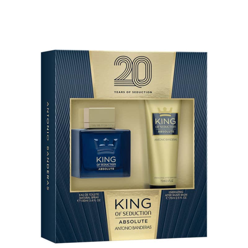 Conjunto King of Seduction Absolute Antonio Banderas Masculino - Eau de Toilette 100ml + Pós-Barba 75ml