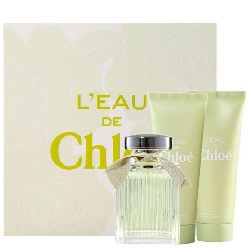 0b909df335f5e Chloé Conjunto Feminino L Eau de Chloé - Eau de Toilette 100ml + Loção 75ml  + Gel de Banho 75ml
