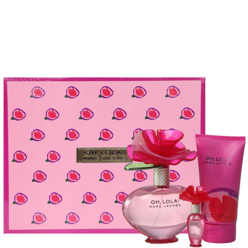 Marc Jacobs Conjunto Feminino Oh! Lola - Eau de Parfum 100ml + Miniatura 4ml + Loção 150ml