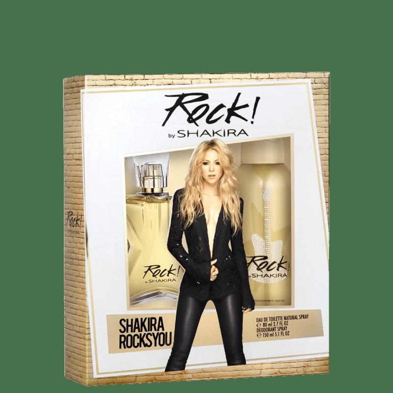 Conjunto Rock! Duo Shakira Feminino - Eau de Toilette 80ml + Desodorante 150ml