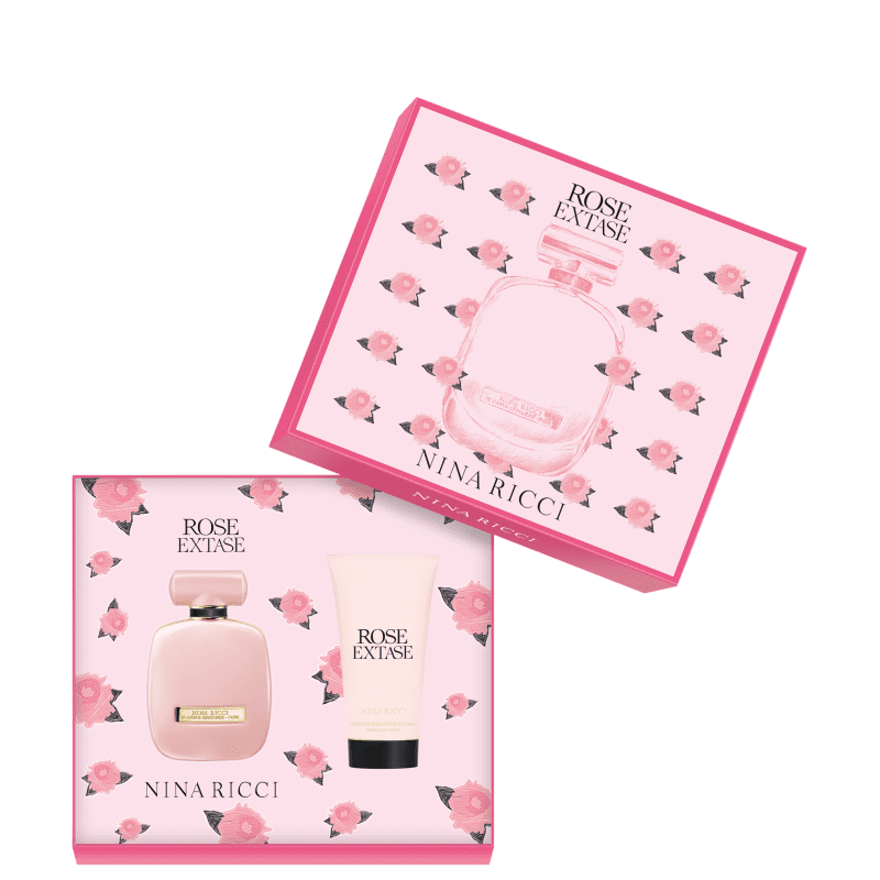 Conjunto Rose Extase Nina Ricci Feminino - Eau de Toilette 50ml + Loção Corporal 75ml