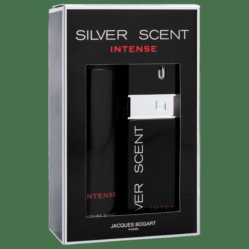 a5d684391 Conjunto Silver Scent Intense Jacques Bogart Masculino - Eau de Toilette  100ml + Desodorante 200ml