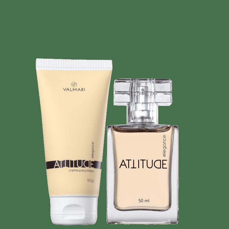 Conjunto Valmari Attitude Elegance Feminino - Colônia 50ml + Creme Hidratante para as Mãos 50g