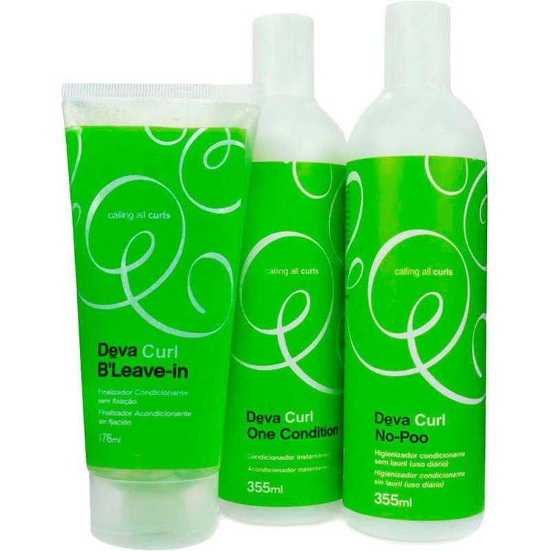 Deva Curl B'Leave-In Kit (3 Produtos)
