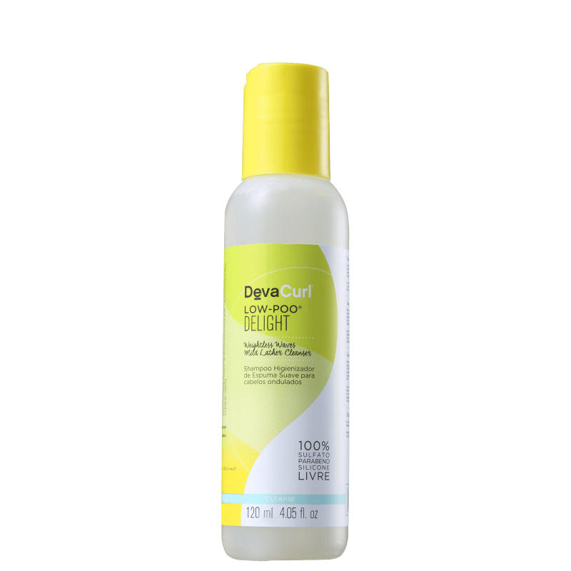 Deva Curl Deligh - Shampoo Low Poo 120ml