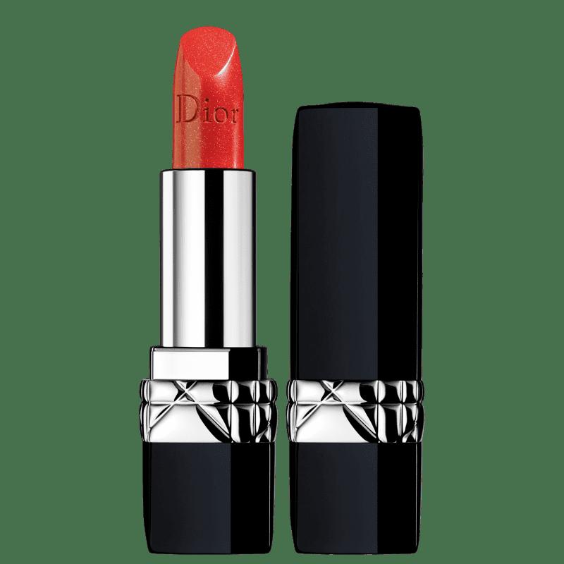 Dior Rouge 555 Dolce Vita - Batom Cintilante 3,5g