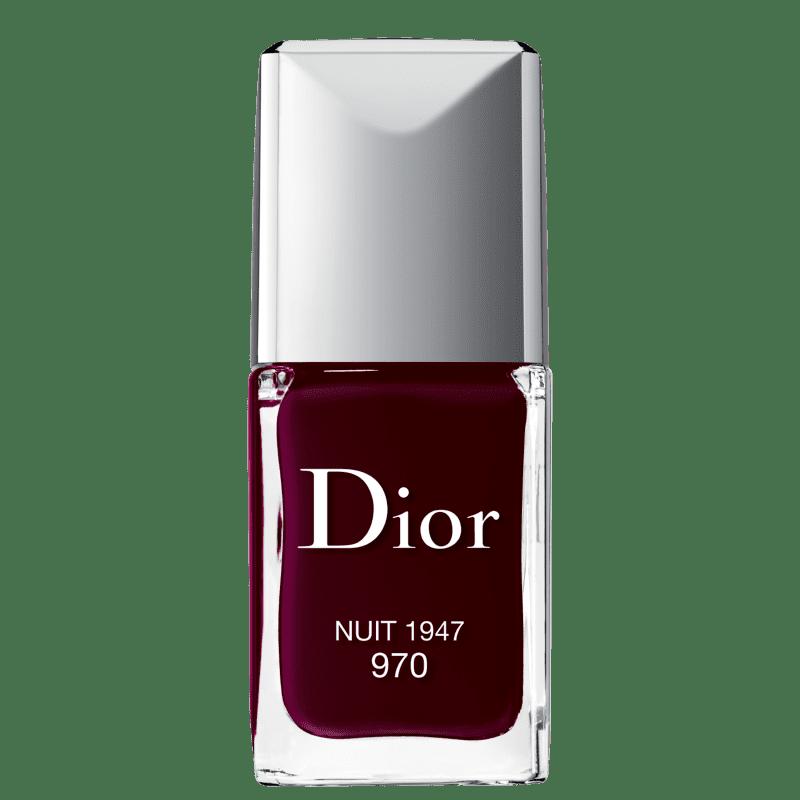 Esmalte Cremoso Dior Vernis Haute Couleur 970 Nuit 10ml