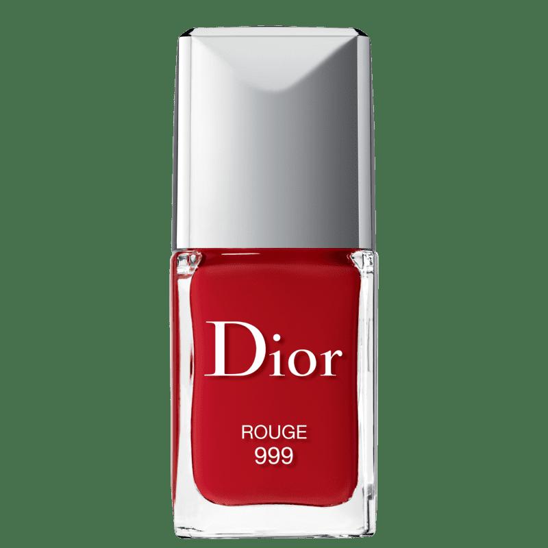 Dior Rouge Vernis 999 Rouge - Esmalte Cremoso 10ml