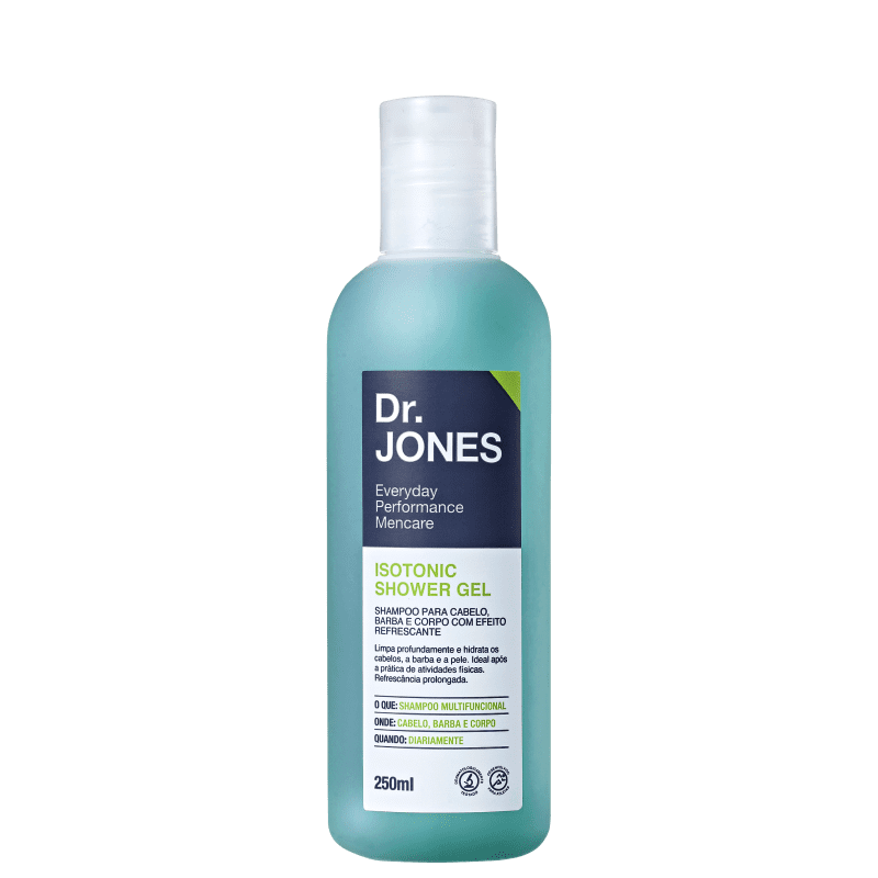 Dr. Jones Isotonic Shower Gel - Shampoo 250ml