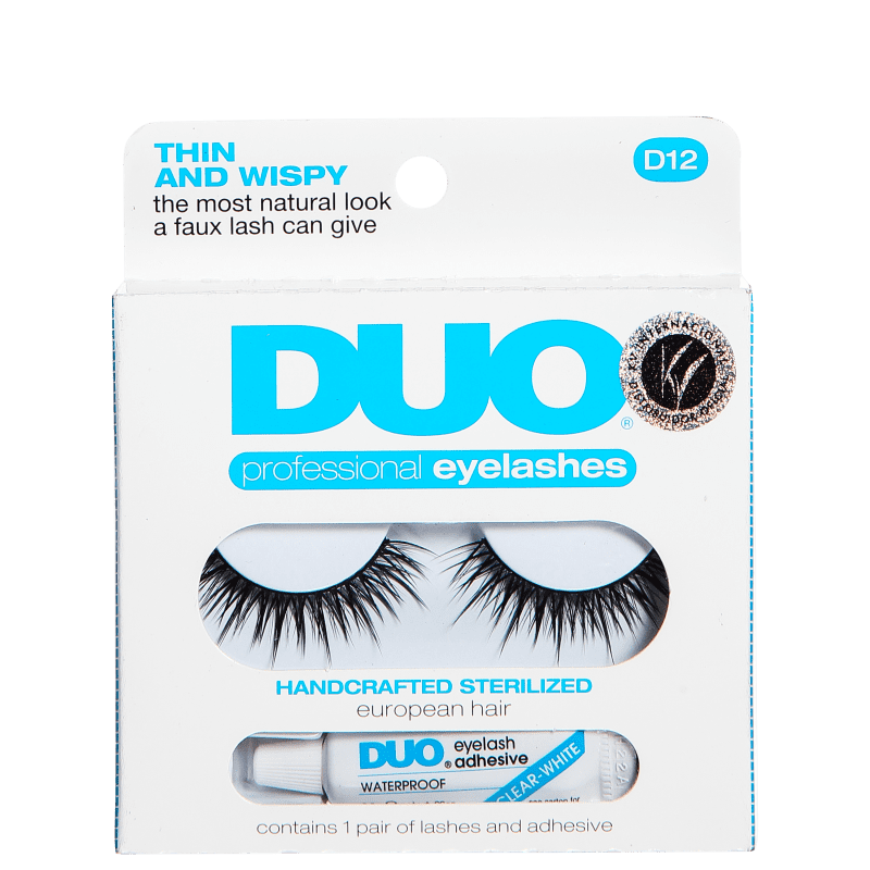 DUO Thin and Wispy - Cílios Postiços com Cola 2,5g