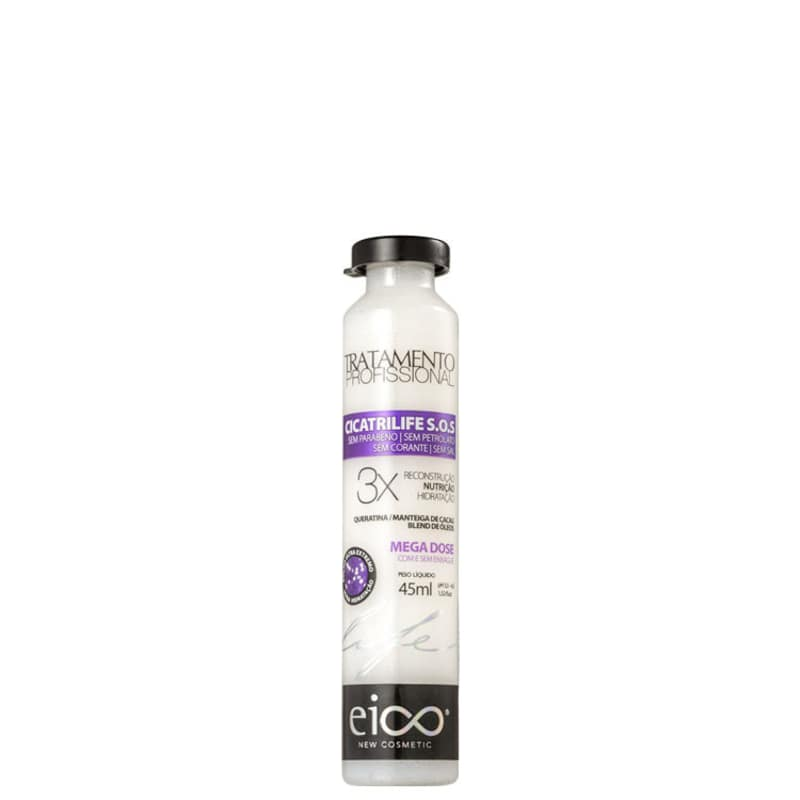 Eico Life Cicatrilife S.O.S. Mega Dose Tratamento - Ampola 45ml