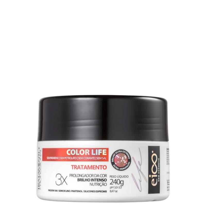 Eico Life Color Life Tratamento - Máscara Capilar 240g