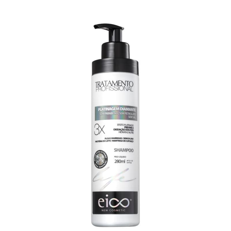 Eico Life Platinagem Diamante - Shampoo 280ml