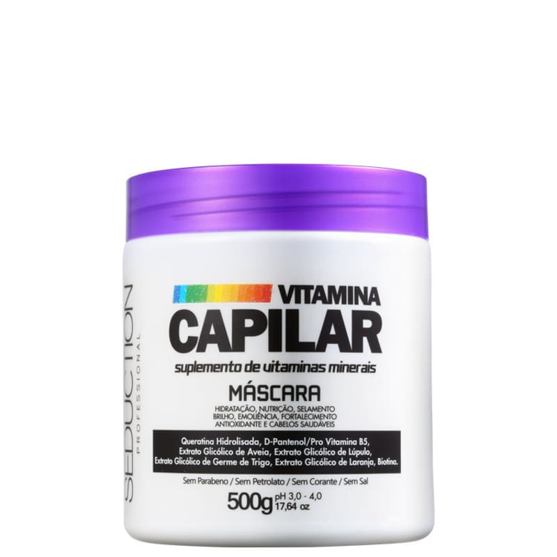 Eico Seduction Vitamina Capilar - Máscara Capilar 500g