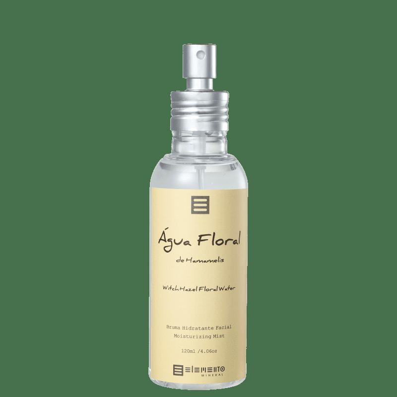 Elemento Mineral Água Floral de Hamamelis - Tônico Facial 120ml