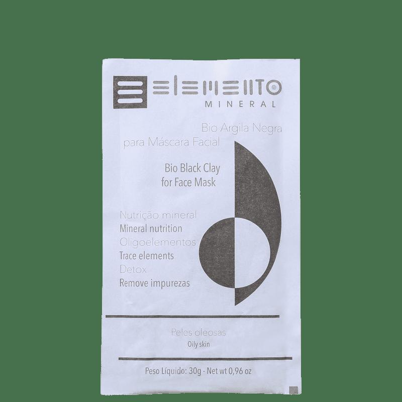 Elemento Mineral Bio Argila Negra - Máscara Facial 30g