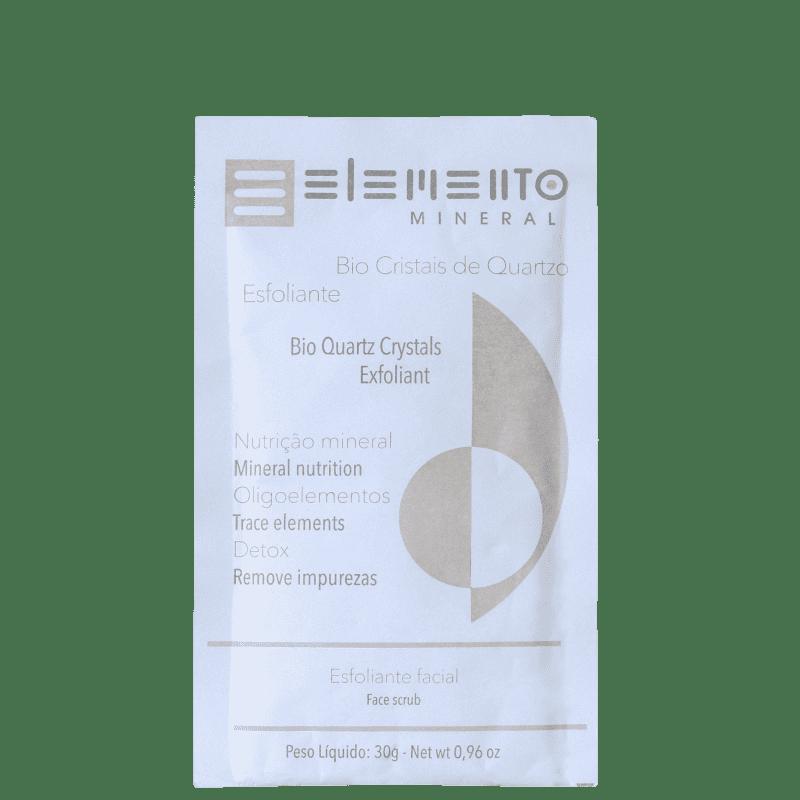 Elemento Mineral Bio Cristais de Quartzo - Esfoliante Facial 30g