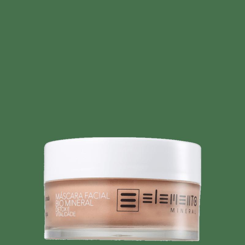 Elemento Mineral Bio Mineral - Máscara Facial 80g