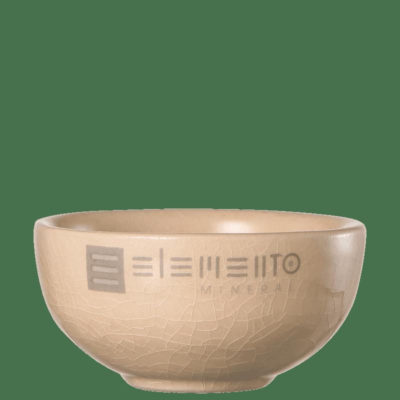 Elemento Mineral Bowl para Máscara Facial - Pote de Cerâmica