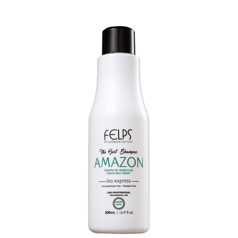 Felps Profissional The Best Amazon - Shampoo Alisante 500ml