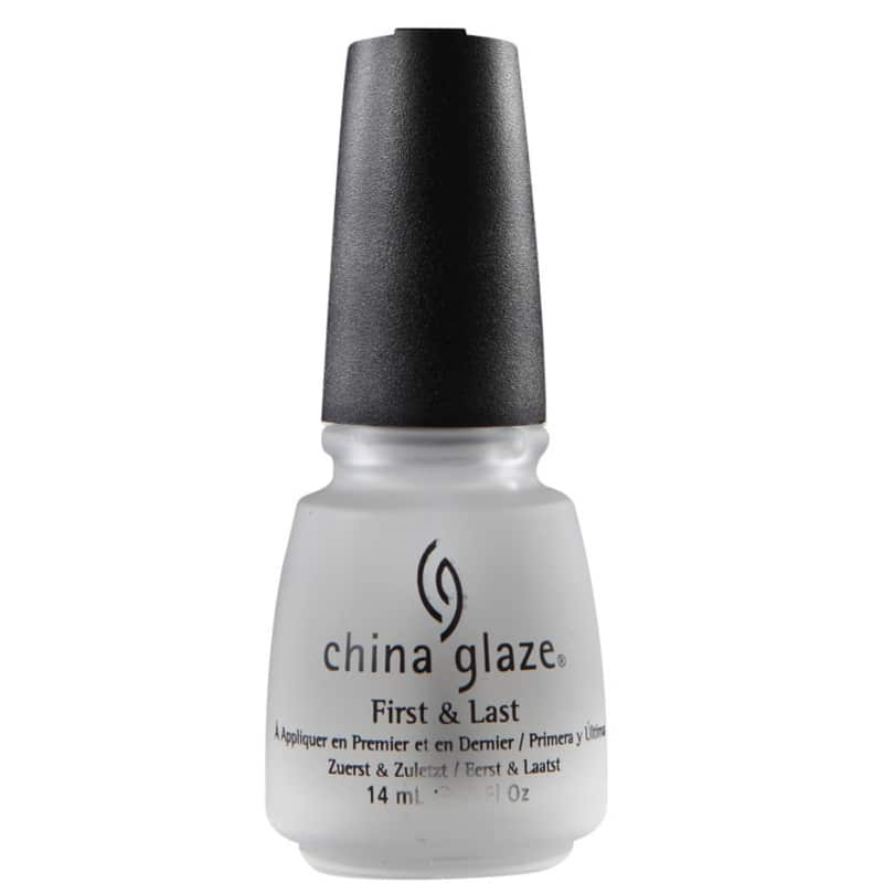 China Glaze First & Last - Base e Cobertura 14ml