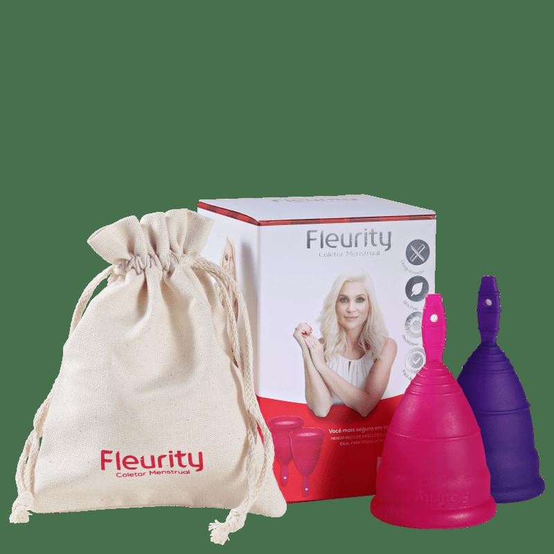 Fleurity Tipo 3 (dois tamanhos) - Coletor Menstrual (2 unidades)