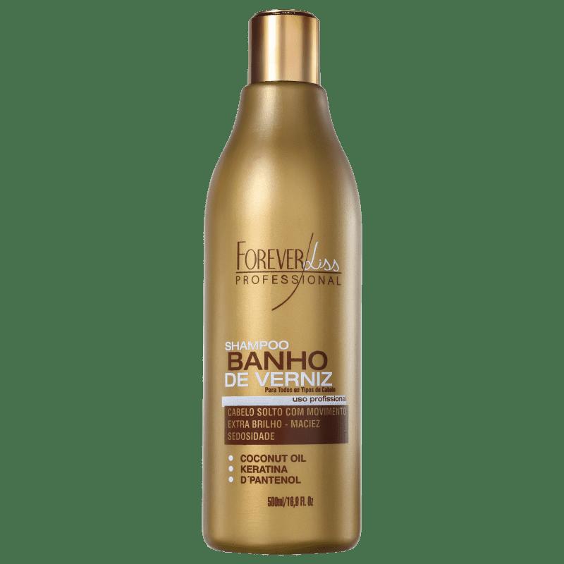 Forever Liss Professional Banho de Verniz - Shampoo 500ml