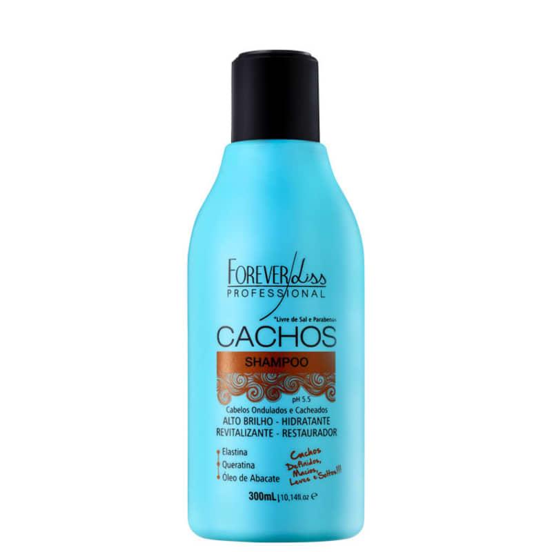 Forever Liss Professional Cachos - Shampoo sem Sal 300ml