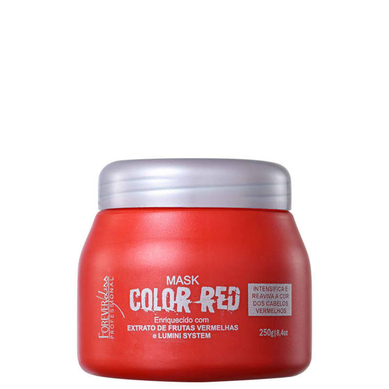Forever Liss Professional Color Red - Máscara Matizadora 250g