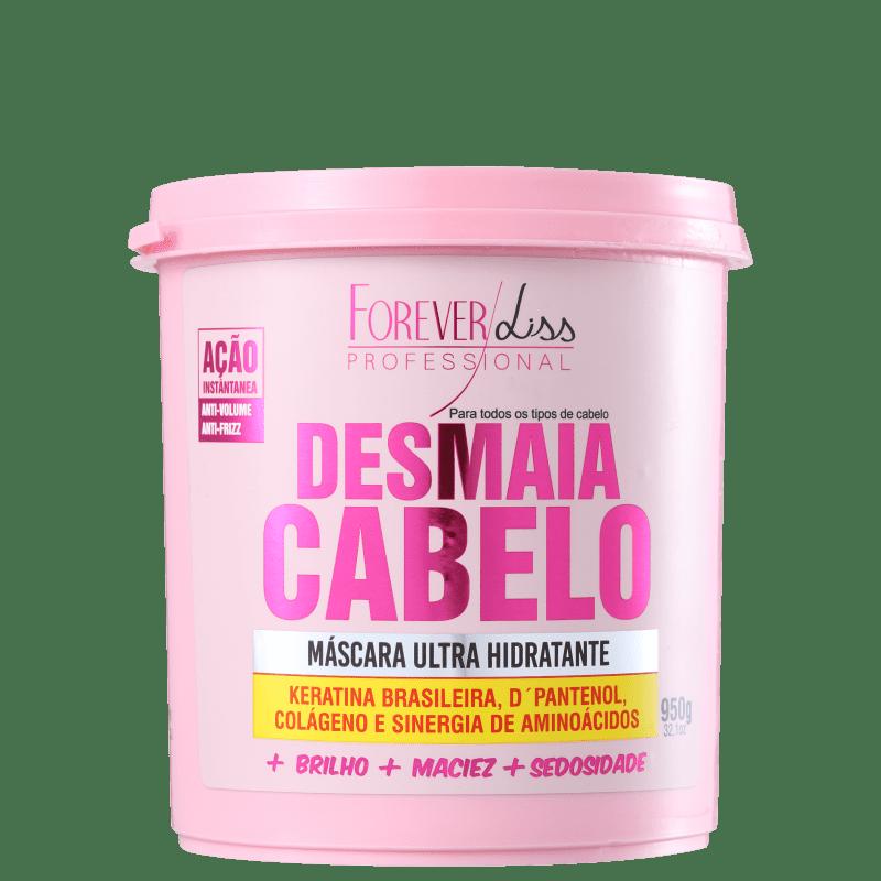 Forever Liss Professional Desmaia Cabelo - Máscara de Hidratação 950g