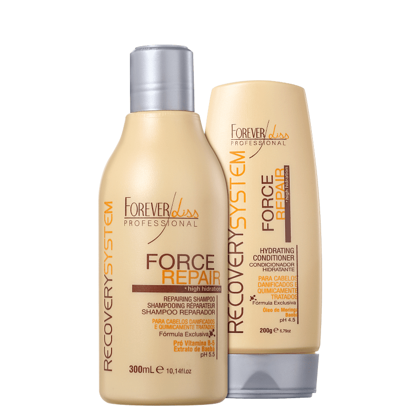 Kit Forever Liss Professional Force Repair Duo (2 Produtos)