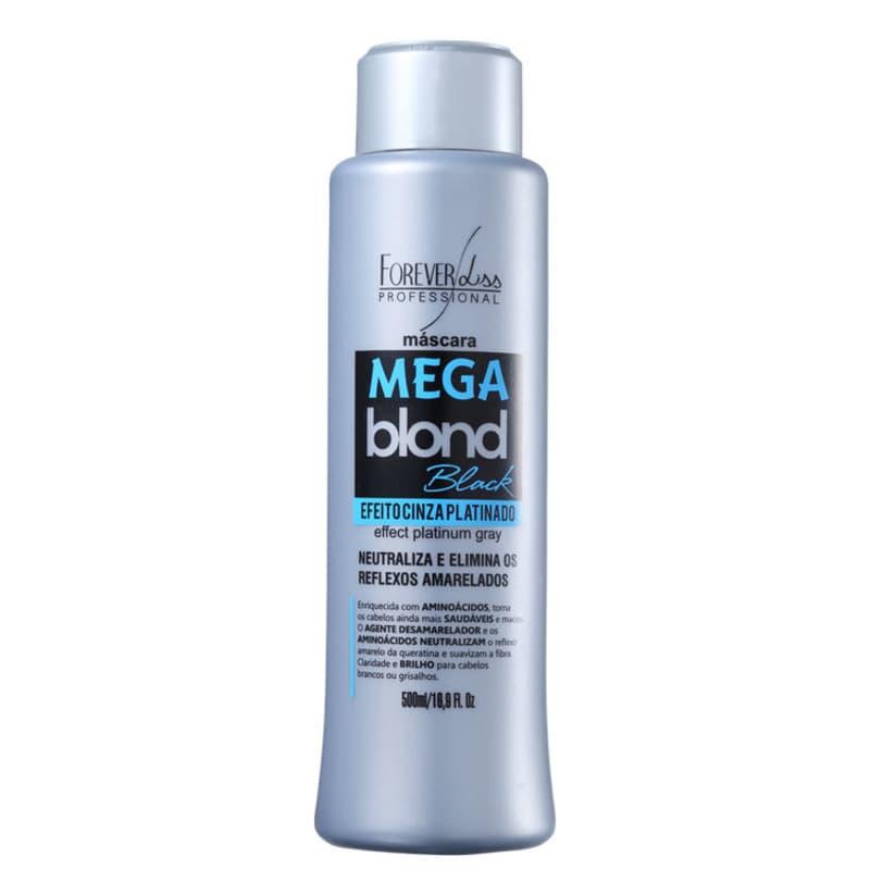 Forever Liss Professional Mega Blond Black - Máscara Matizadora 500ml