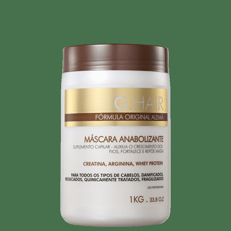 G.Hair Anabolizante - Máscara Capilar 1000g