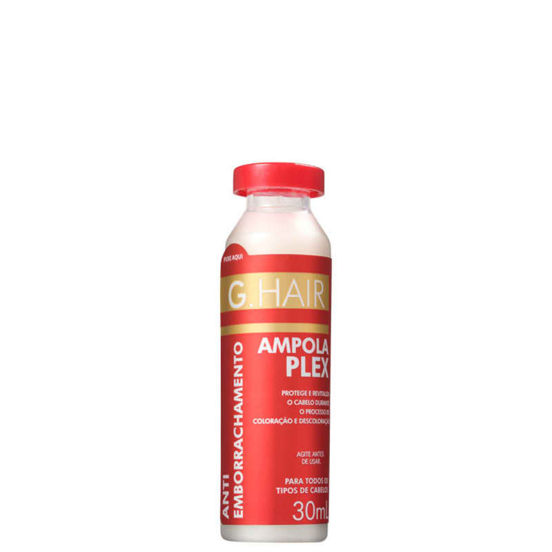 G.Hair Antiemborrachamento Plex - Ampola Capilar 30ml
