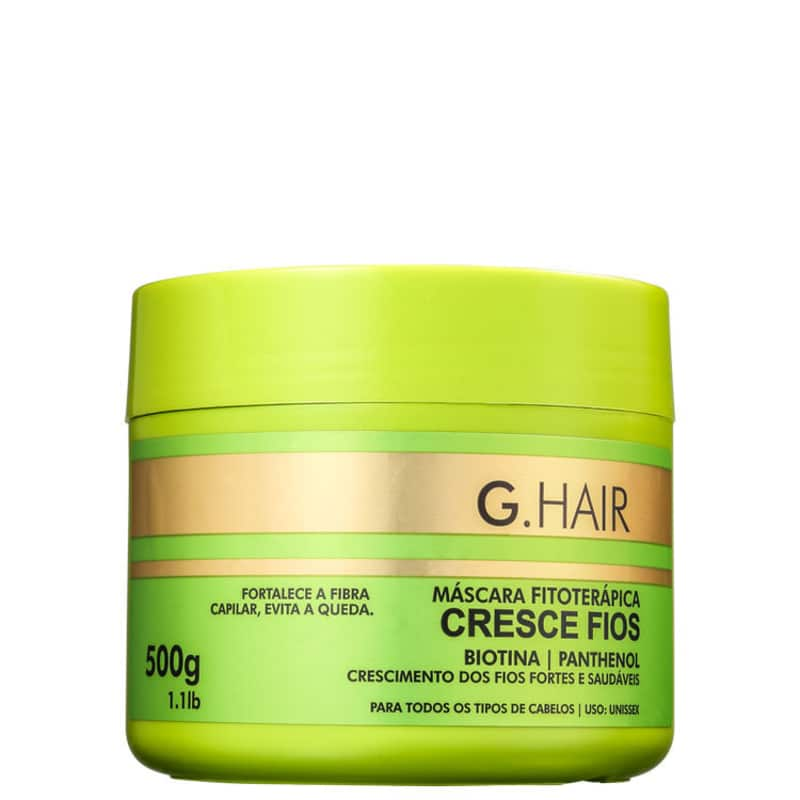 G.Hair Cresce Fios - Máscara Capilar 500g