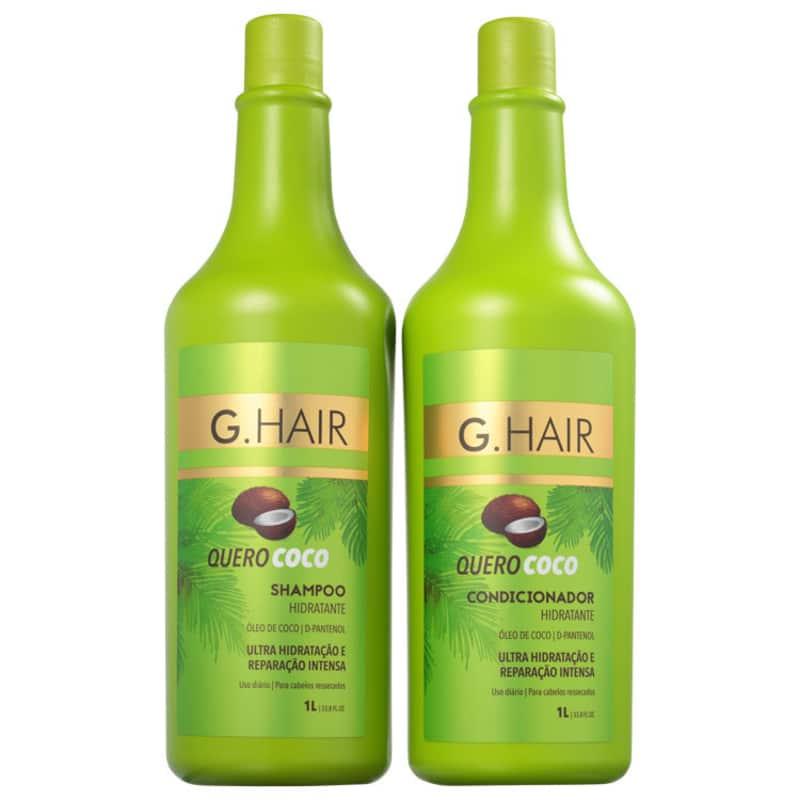 Kit G.Hair Quero Coco Salon Duo (2 Produtos)
