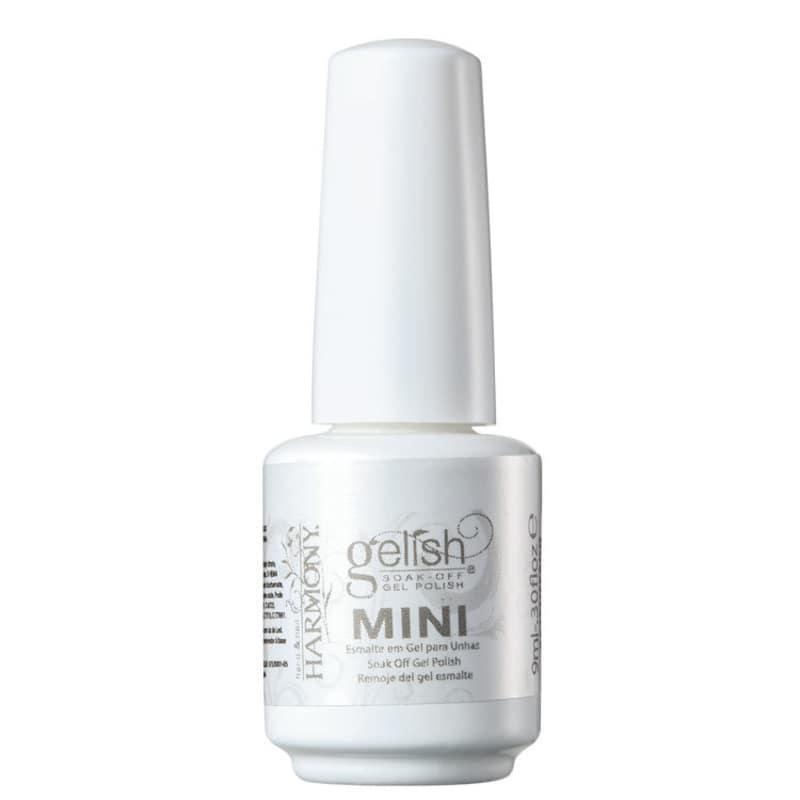 Gelish Soak Off Gel Mini All White Now - Esmalte Cremoso 9ml