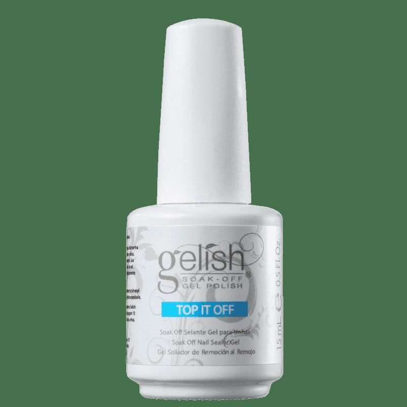 Gelish Top It Off - Gel Finalizador para Esmalte 15ml