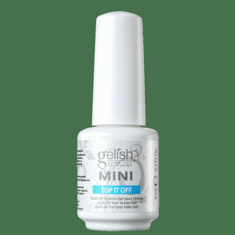 Gelish Top It Off Mini - Gel Finalizador para Esmalte 9ml