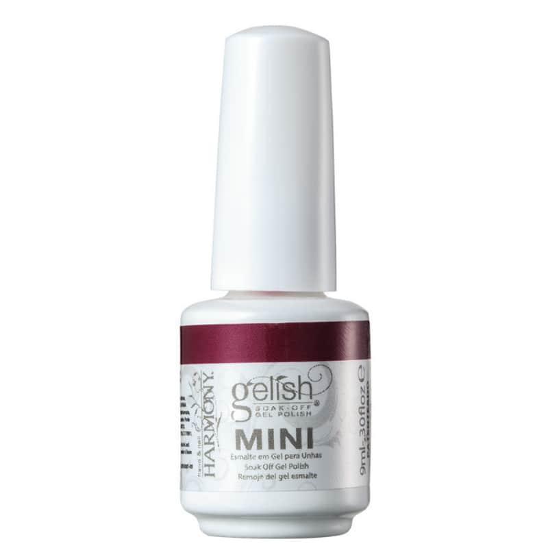 Gelish Soak Off Gel Midnight Merlot - Esmalte Cremoso 9ml