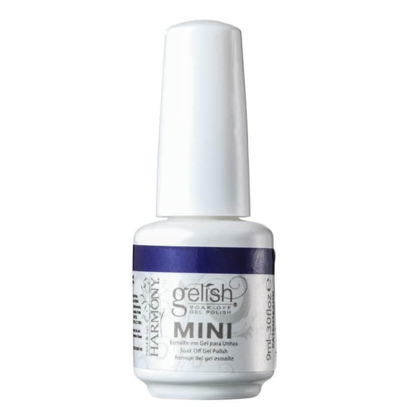 Gelish Soak Off Gel Mini Deja Blue - Esmalte Cintilante 9ml