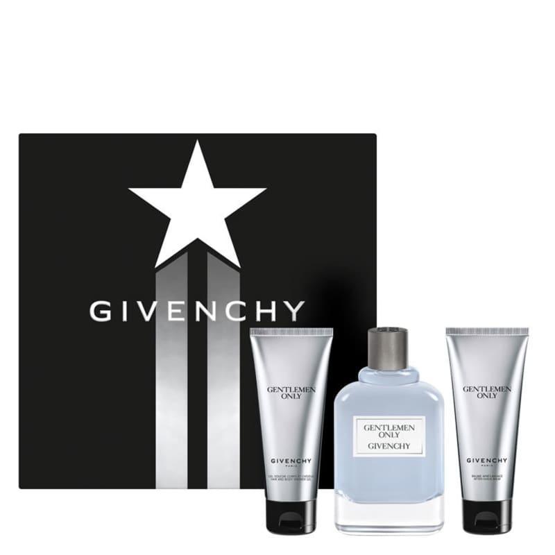 Conjunto Gentlemen Only Givenchy Masculino - Eau de Toilette 100ml + Shampoo 75ml + Pós-Barba 75ml