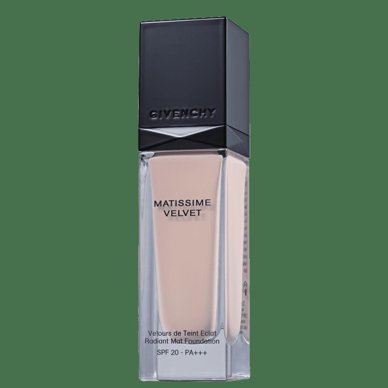 Givenchy Matissime Velvet Fluid FPS 20 N02 Mat Shell - Base Líquida 30ml