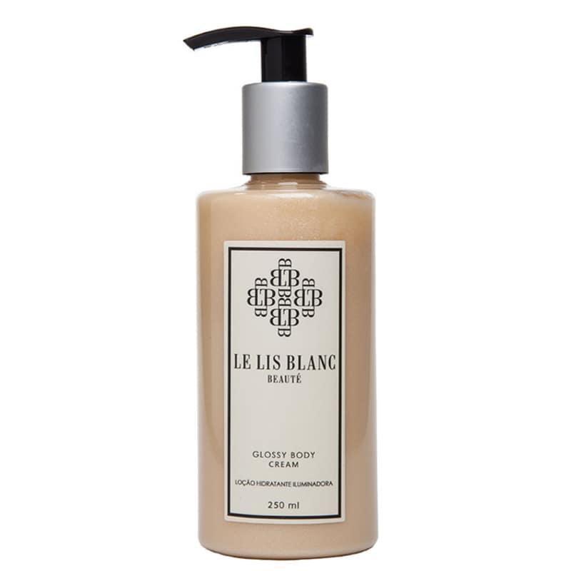 Le Lis Blanc Beauté Glossy Body Cream - Creme Corporal Iluminador 250ml