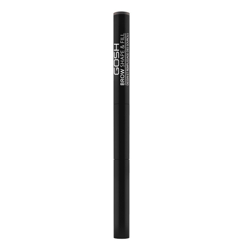 GOSH Brow Shape & Fill 001 Brown - Lápis para Sobrancelha 0,6g
