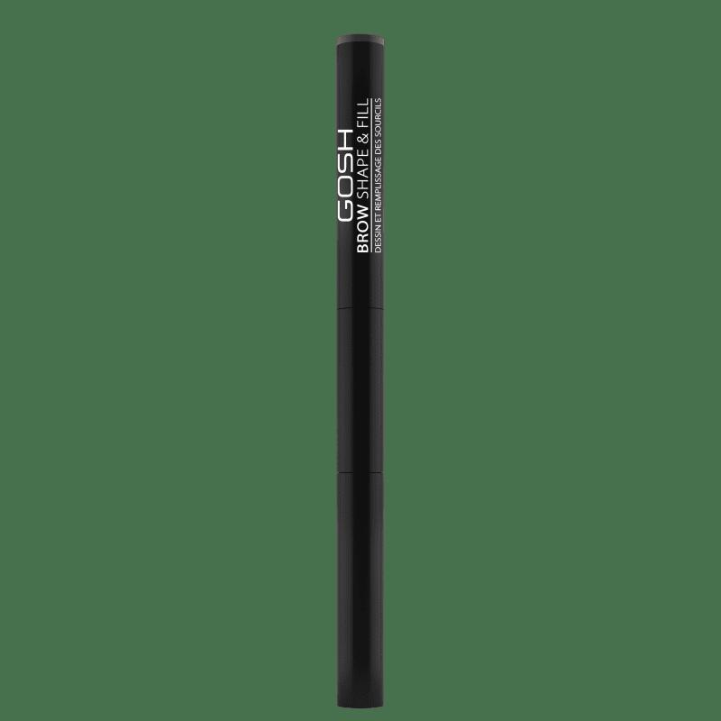 GOSH Brow Shape & Fill 003 Dark Brown - Lápis para Sobrancelha 0,6g