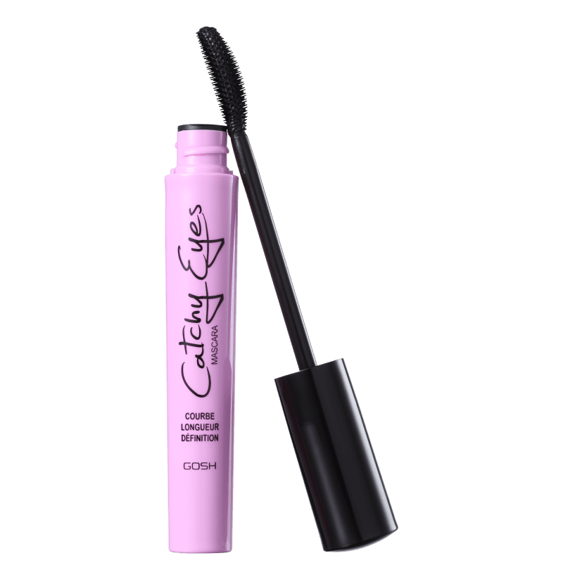 GOSH Catchy Eyes Black - Máscara para Cílios 8ml