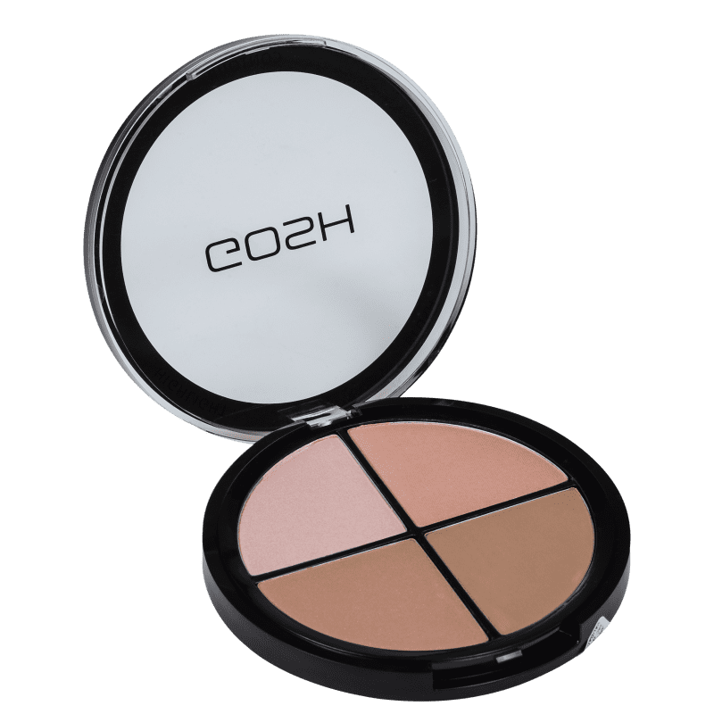 GOSH Contour n' Strobe Kit Light - Paleta de Contorno 15g