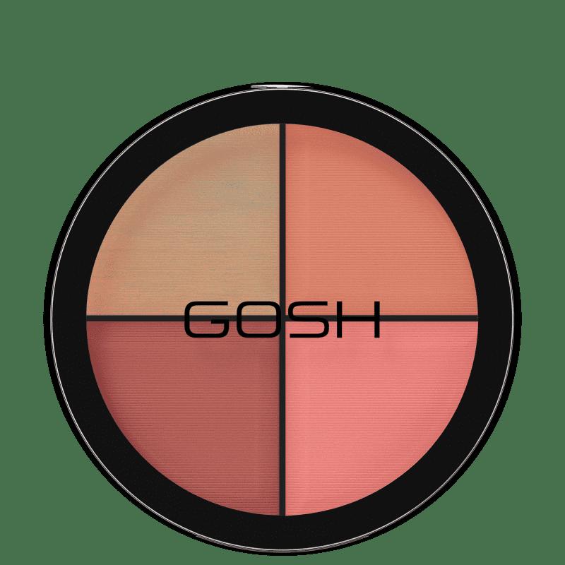 GOSH Strobe'n Glow Kit Blush - Paleta de Contorno 15g